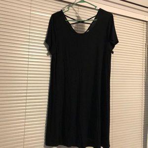 Black mini dress, Mossimo brand.